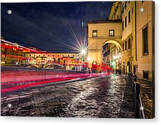 Florence Acrylic Print by Cory Dewald