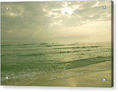 Acrylic Print featuring the photograph Florida Beach by Charles Beeler
