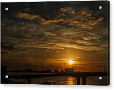 Acrylic Print featuring the photograph Florida Sunset by Jane Luxton