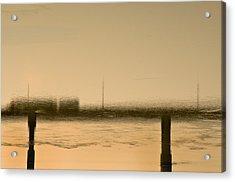 Flow Acrylic Print by KM Corcoran