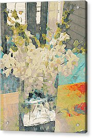 Flowers Of Summer Acrylic Print