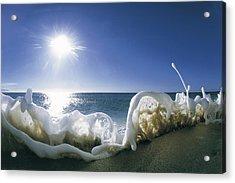 Foam Inertia Acrylic Print