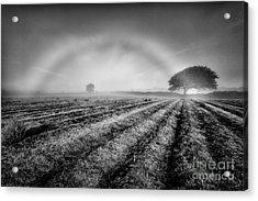 Fog Bow Acrylic Print by John Farnan