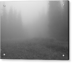 Fog In Tileston Meadow Acrylic Print