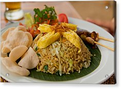 Acrylic Print featuring the photograph Food - Bali by Matthew Onheiber