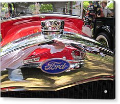 Ford Classic Car  Acrylic Print by Max Lines