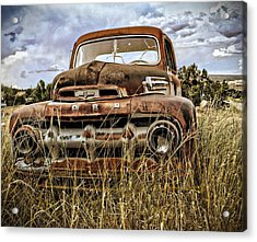 Ford Acrylic Print by Gia Marie Houck
