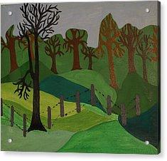 Forest Moderna Acrylic Print