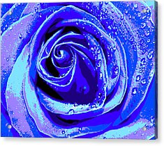 Forever In Blue Acrylic Print