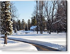Acrylic Print featuring the photograph Fort Drum by Gina Savage