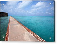 Fort Jefferson At Dry Tortugas National Park Acrylic Print