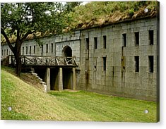 Fort Warren George's Island Acrylic Print by Gail Maloney
