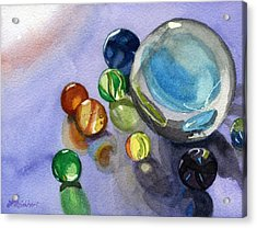 Found My Marbles Acrylic Print