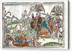 Four Horsemen Of The Apocalypse, 1522 Acrylic Print