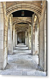 Fourth Presbyterian Church Chicago Acrylic Print by Christine Till