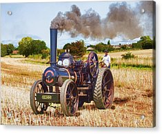 Fowler Ploughing Engine Acrylic Print