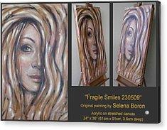 Fragile Smiles 230509 Acrylic Print