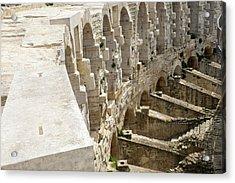France, Arles, Roman Amphitheater Acrylic Print by Emily Wilson