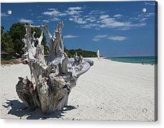France, Corsica, Costa Serena Acrylic Print by Walter Bibikow