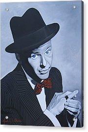 Frank Sinatra Acrylic Print by Jared Wilkins