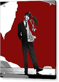 Frank Sinatra Pal Joey Publicity Photo 1957-2014 Acrylic Print by David Lee Guss