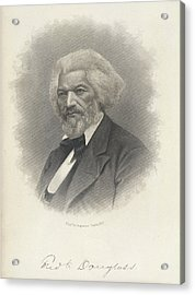 Frederick Douglass Acrylic Print by British Library