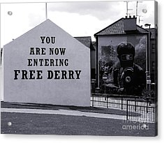 Free Derry Corner 7 Acrylic Print