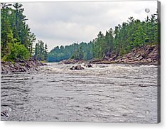 Acrylic Print featuring the photograph French River Ontario Canada by Marek Poplawski