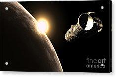 Frenchbulgarian Orbital Weapons Acrylic Print by Rhys Taylor