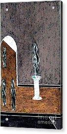 From The Mezzanine Acrylic Print by Bill OConnor