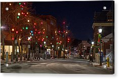 Front Street Acrylic Print