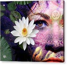 Full Moon Lakshmi Acrylic Print