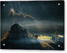 Fundatura Ponorului Acrylic Print
