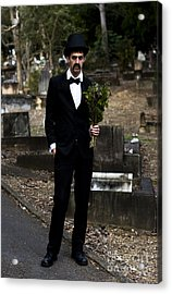 Funeral Attendee Acrylic Print