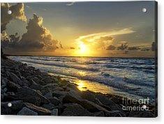 Galveston Sunrise Acrylic Print