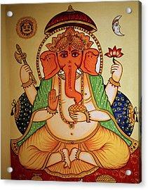 Spiritual India Acrylic Print