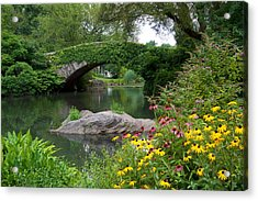 Gapstow Bridge Acrylic Print