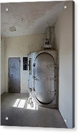 Gas Chamber At Wyoming Frontier Prison Acrylic Print by Jim West