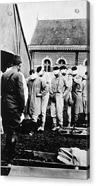 Gassed Soldiers Acrylic Print by National Library Of Medicine