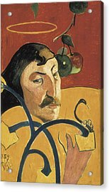 Gauguin, Paul 1848-1903. Self-portrait Acrylic Print by Everett