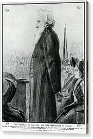General William Booth  Founder Acrylic Print by Mary Evans Picture Library