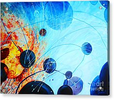Acrylic Print featuring the painting Genesis by AnnE Dentler