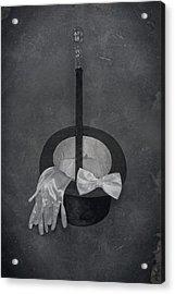 Gentleman Acrylic Print by Joana Kruse