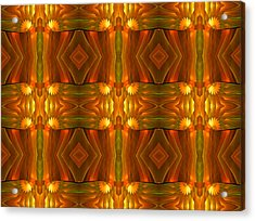 Geometric Modernism Acrylic Print