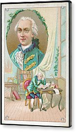 Georges-louis Leclerc Alias Buffon Acrylic Print by Mary Evans Picture Library