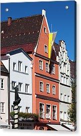 Germany, Bavaria, Fussen Acrylic Print by Walter Bibikow