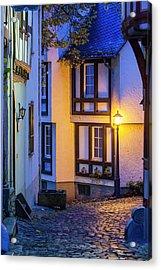 Germany, Hesse, Limburg An Der Lahn Acrylic Print by Walter Bibikow