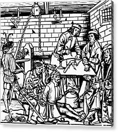 Germany Witch Trial Acrylic Print