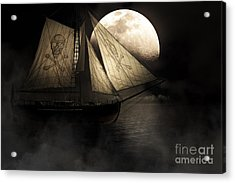 Ghost Ship Acrylic Print by Jorgo Photography - Wall Art Gallery