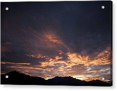 Gila River Indian Sunset Acrylic Print by Anthony Citro